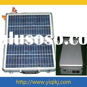 portable solar lighting system 30W for home