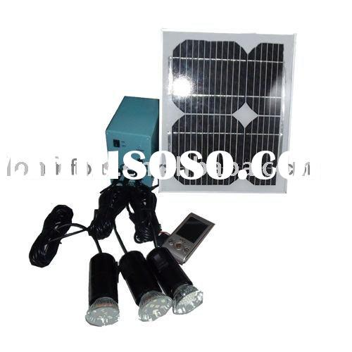 portable solar lighting system for indoor 50W/12V