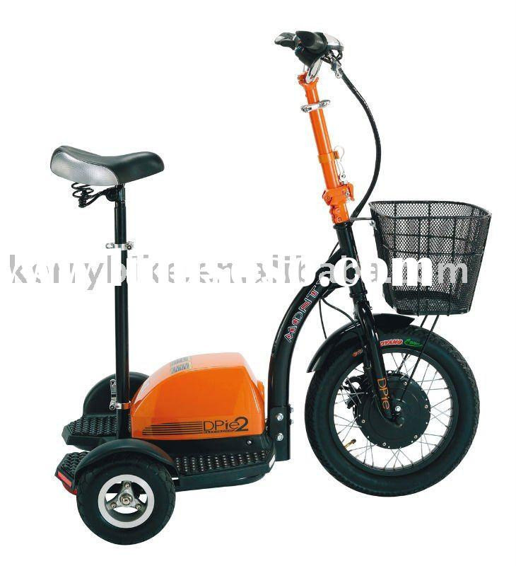 3 wheel zappy electric scooter/personal transporter