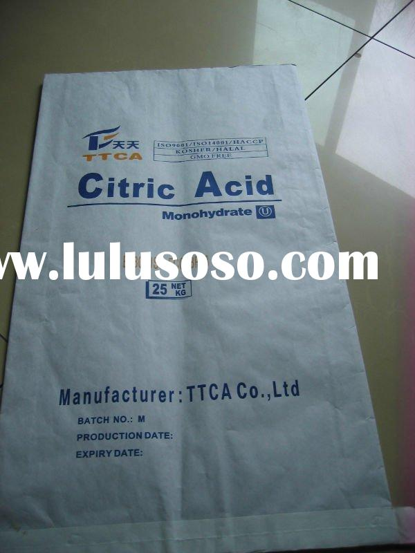 CITRIC ACID MONOHYDRATE/ANHYDROUS BP98/E330