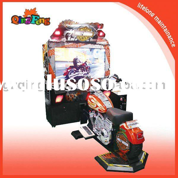 Coin operated racing game machine - king of Harley(MR-QF004)