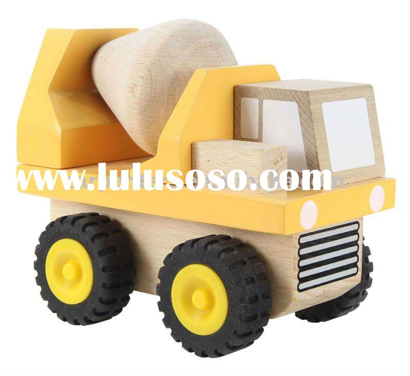 Master Builders - Cement Truck - Wooden Toy Car