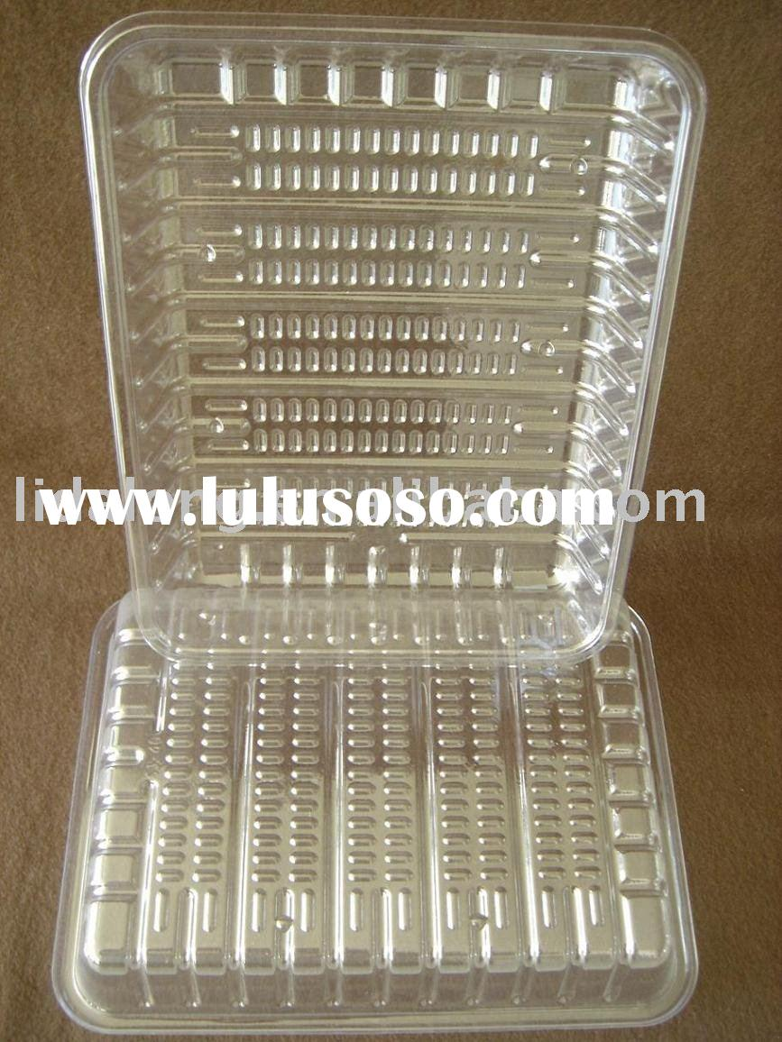 PET plastic food tray
