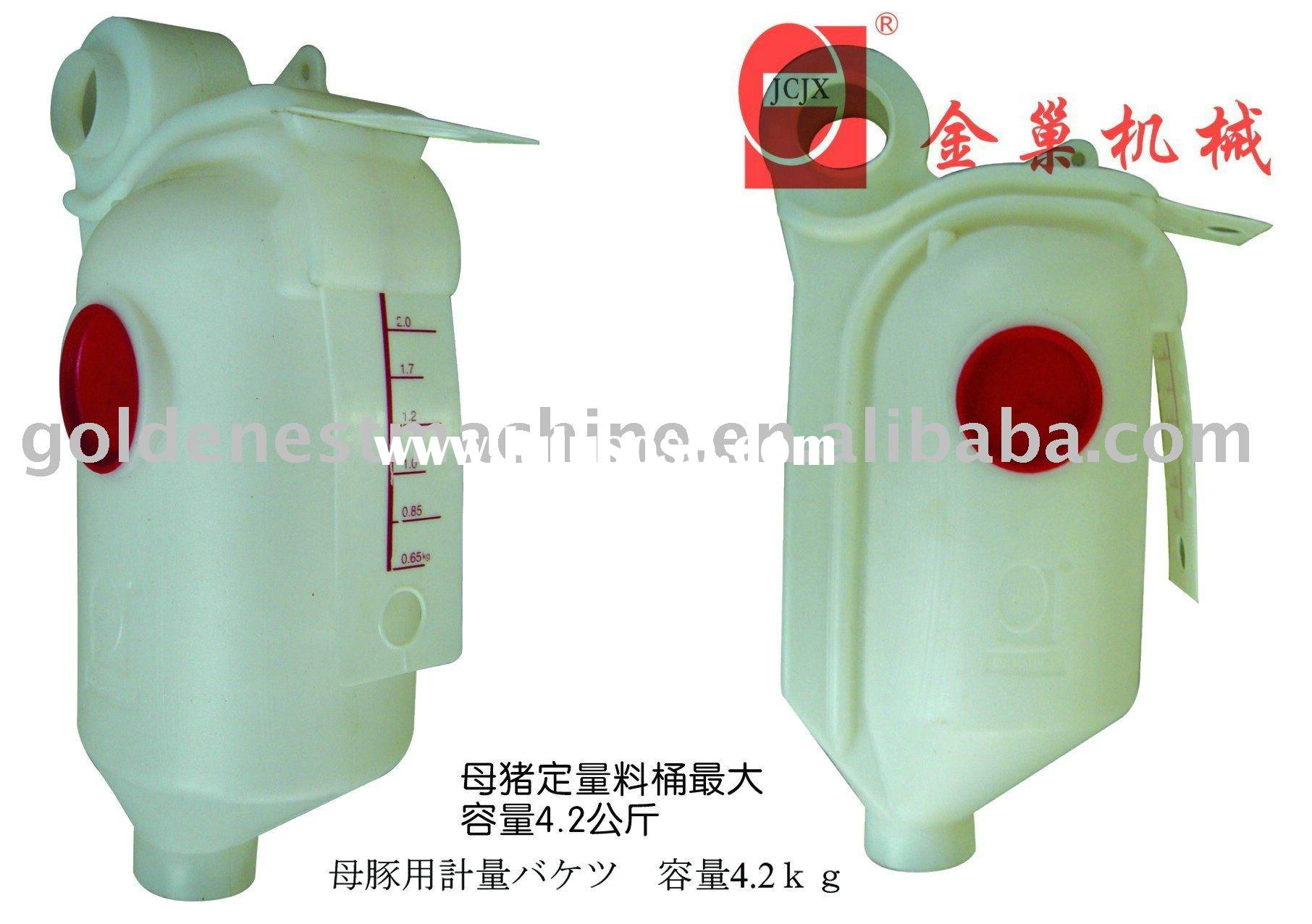 Pig feeder for pig farming equipment/sows