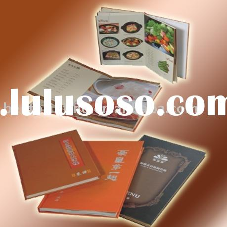 Printing recipes/hardcover book