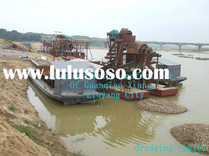 Sand dredger and transport ship (auto-unload)dual purpose