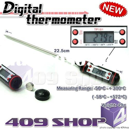 TP-101 Digital Cooking Food Probe Meat Thermometer BBQ