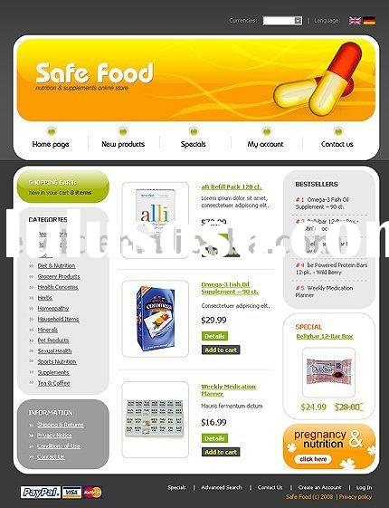 Web Designer, Ecommerce Website Design, Software Design, Safe food Ecommerce Website Design Service(