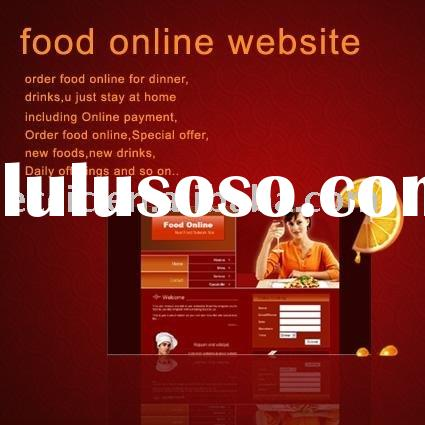 food online website design website and software development