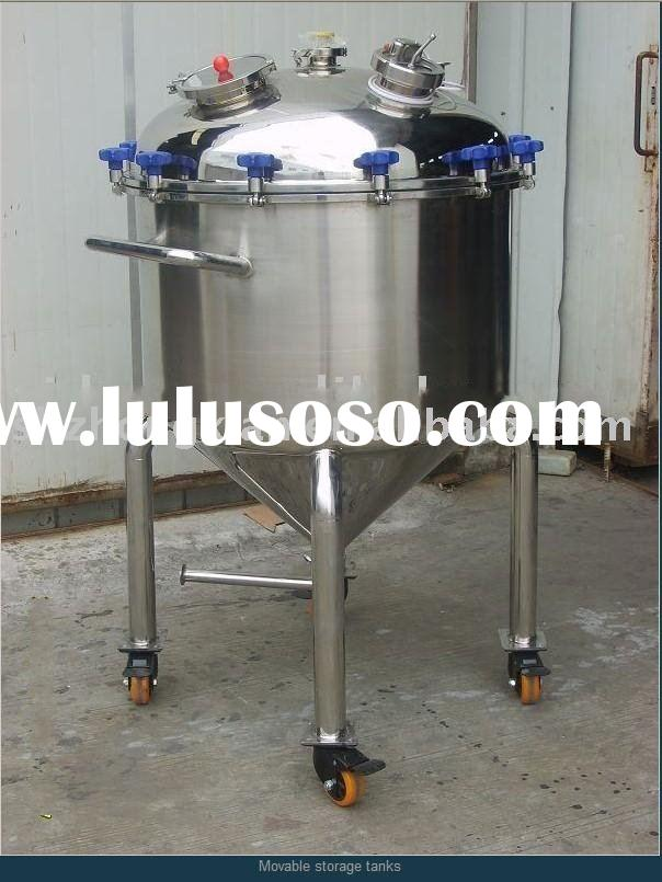 movable chemical stainless steel storage tanks