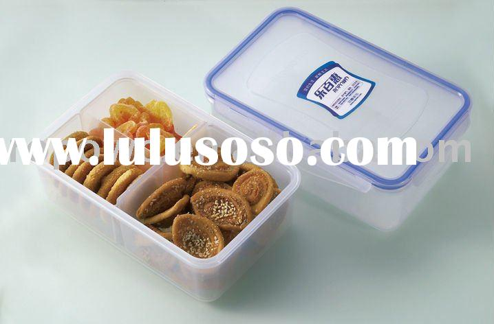 1150ml small divided food storage airtight container
