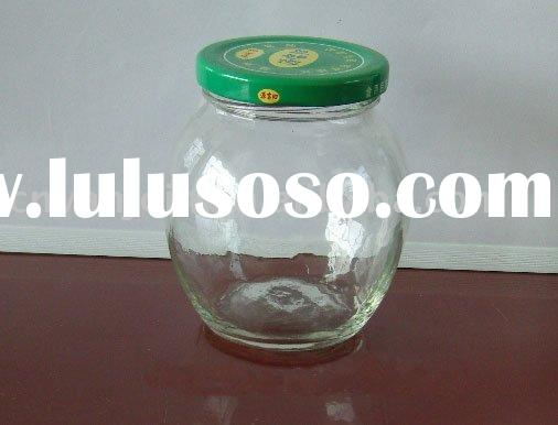 350ML Glass Container Food Jar With Lid