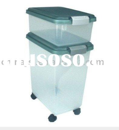 Airtight Pet Food Storage Container Mold