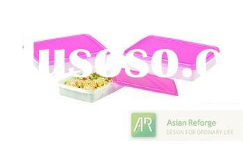Dinnerware Set, Rectangular Plastic Food Containers Mixing Food Boxes