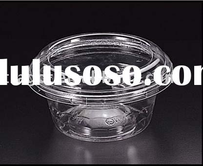 PET clear plastic box/container