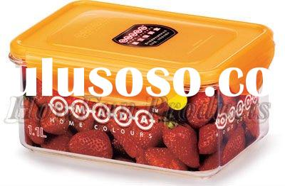 Plastic airtight insulated hot food container