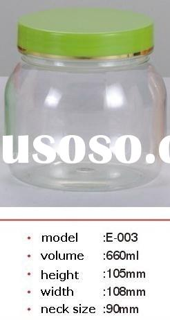 Plastic  bottle, PET jar for food container