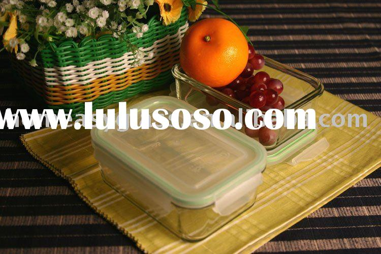 Pyrex Glass Storage Set/Glass Food Container