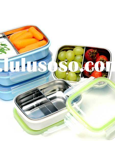 Rectangular BPA-Free Stainless Steel Sealable Food Container Set