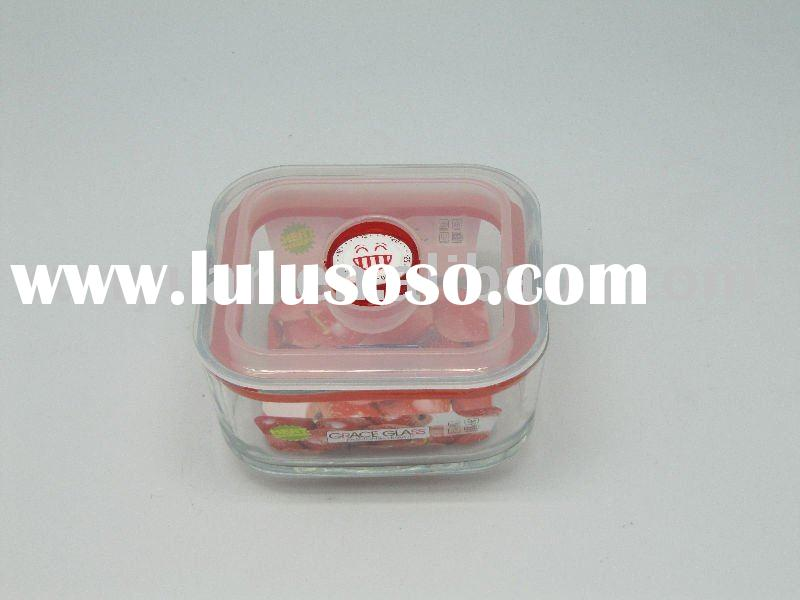 Tempered Glass Food Storage container
