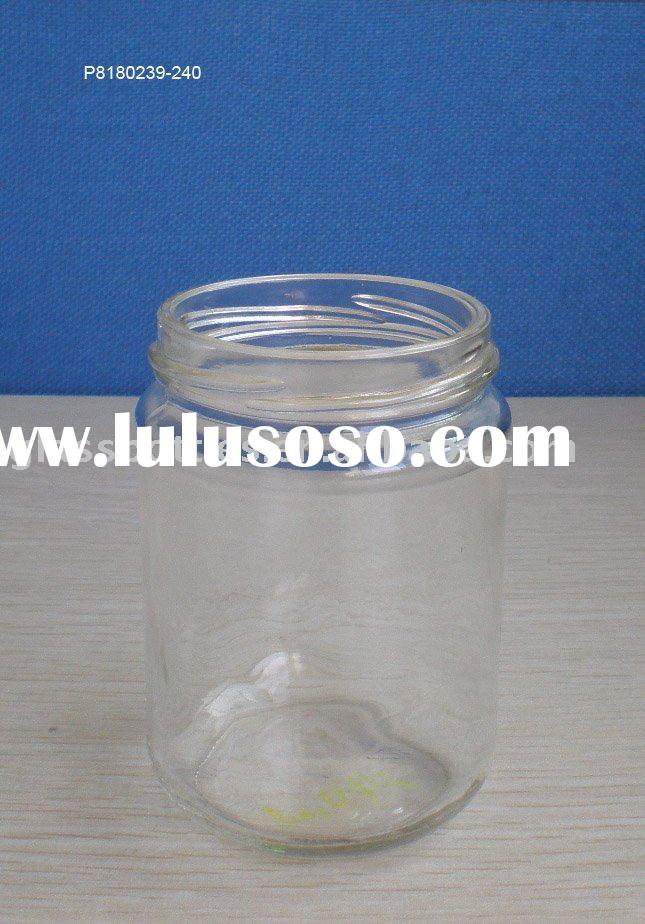 glass food container(glass jar)