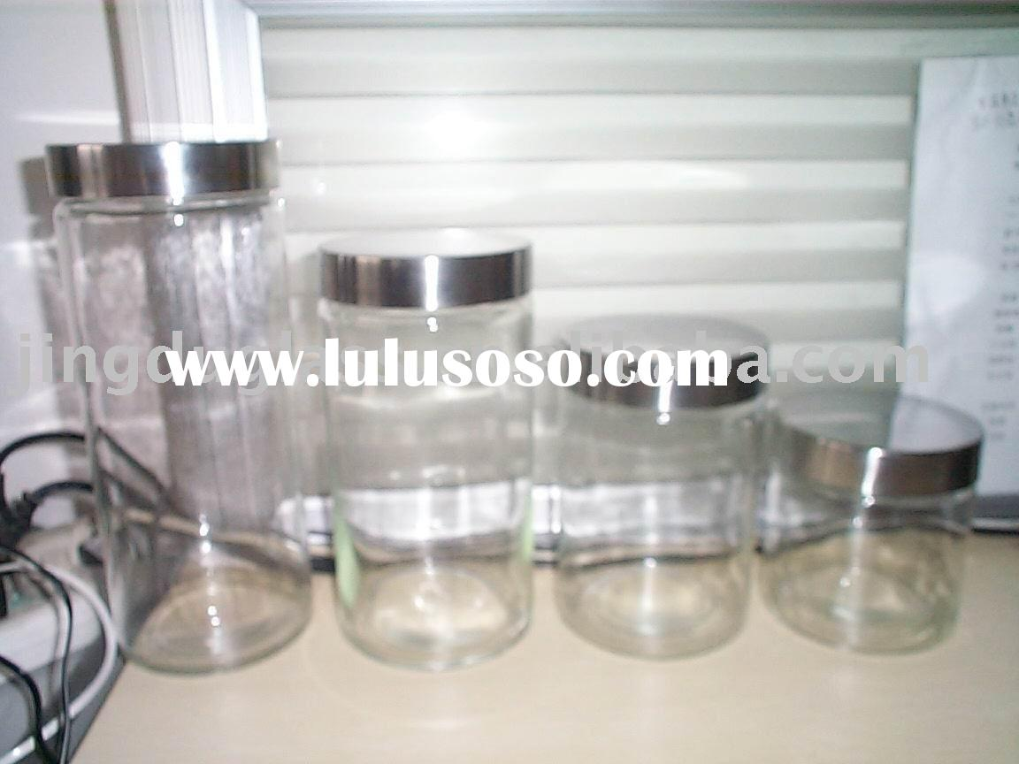 glass jar/glass food container