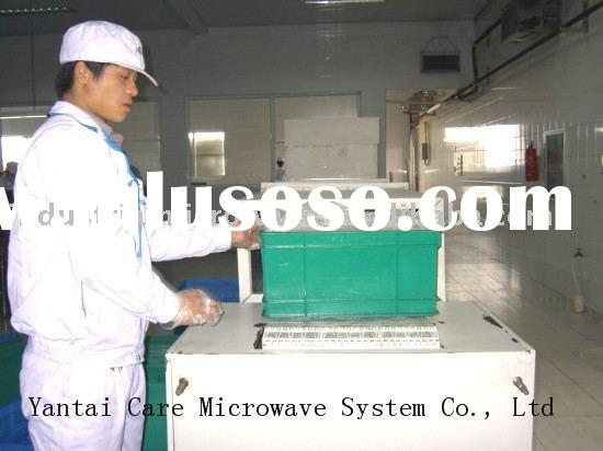 industrial microwave baking machine for snack food