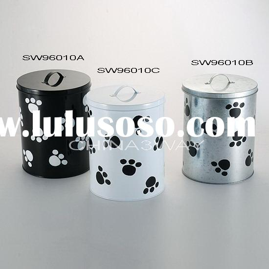 metal container for pet food storage