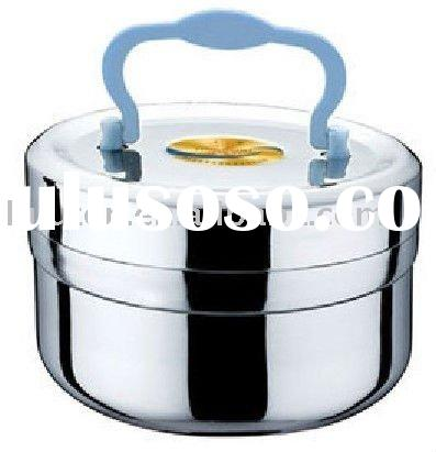 stainless steel food can
