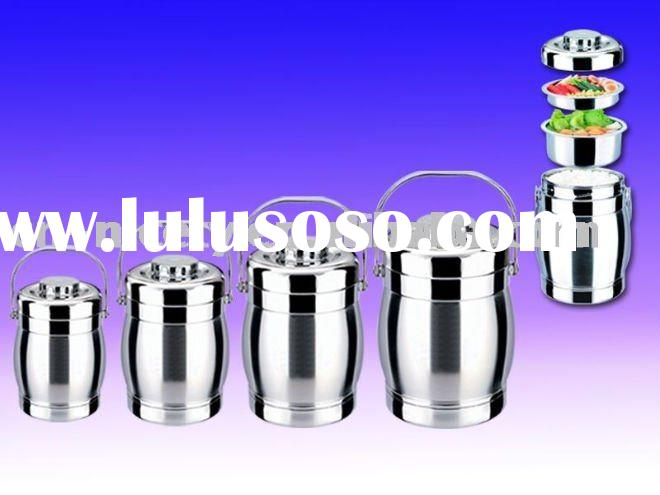 stainless steel  hot food container