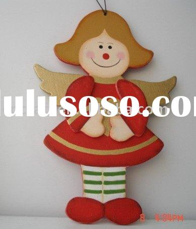 Arts craft decorative wood christmas angel