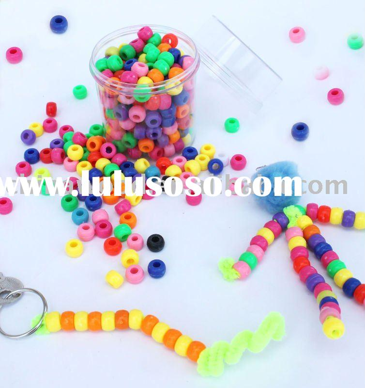 Craft Plastic Beads for Education,Handicrafts,Jewellery