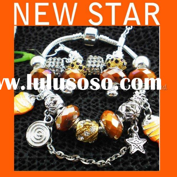 Crystal beads 2011 New Designer Gifts Ideas Bracelet Earring Set Jewellery Free Sample F657
