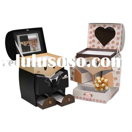 Favoured Paper Craft Wedding Box
