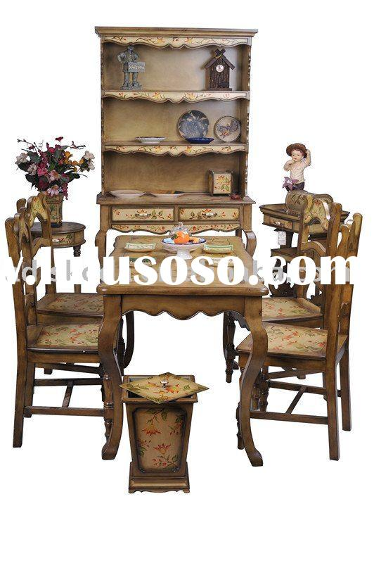 Hand painted wood furniture(27-001)