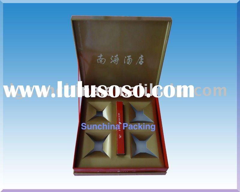 Paper moon cake box with high quality
