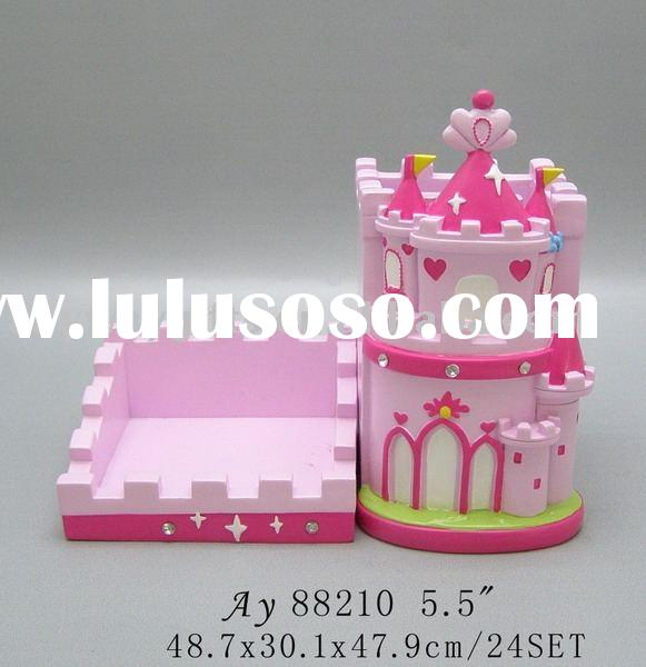 Polyresin Princess craft Memo Holder promotion gifts,home decoration