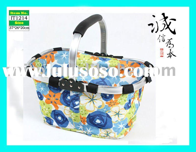 Reusable Eco-Friendly Foldable Durable Compact Fabric Tote Bag Laundry Diaper Grocery Picnic Shoppin