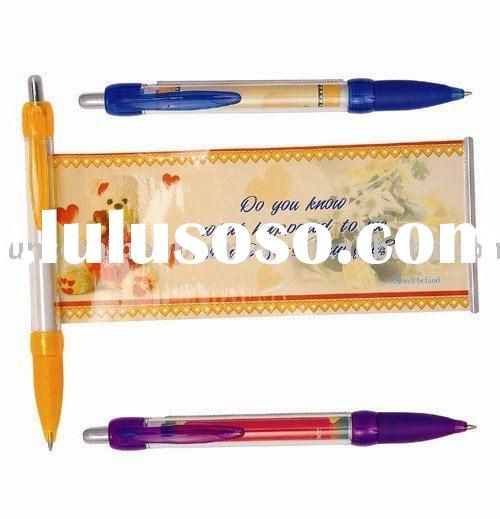 advertising promotional banner ball point pen