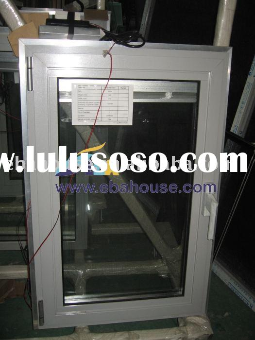 aluminium window,aluminum roller,power operate roller blind window