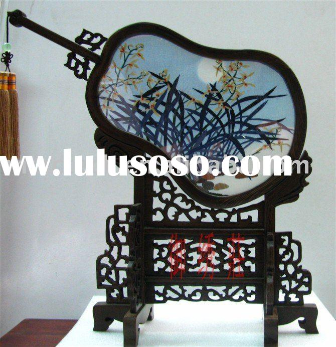 chinese traditional folk art double-face embroidery