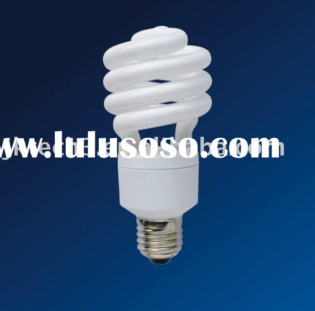 dimmable energy saving lamp/ light bulbs -half spiral 9W-23W with CE,RoHS,GS,ERP,SAA certificate
