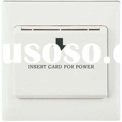 energy saving switch, energy saver, hotel card switch, saver switch, wall switch