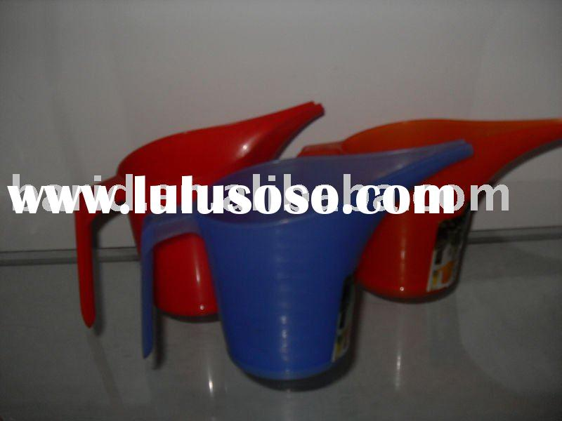 plastic garden watering can