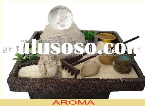 tabletop Zen water fountain polyresin decoration