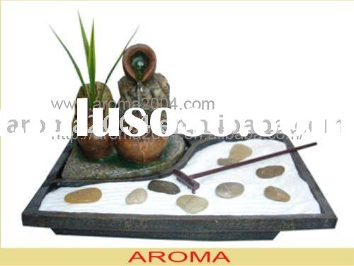 zen garden water fountain for indoor decoration