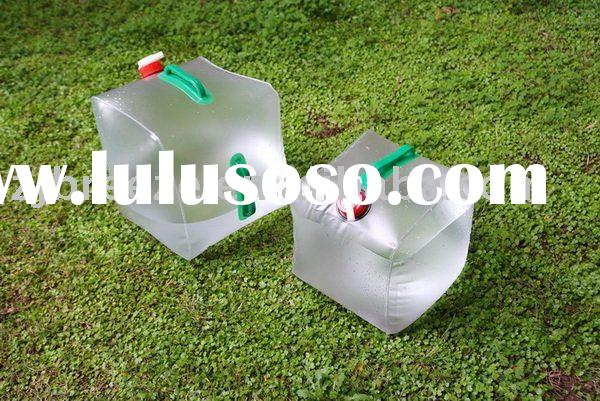 20 litre / 5 gallon foldable jerry cans with screw cap & tap