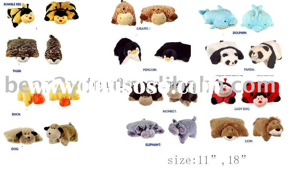 Animal pillows(For more new products,please visit our website:www.bear2you.com)