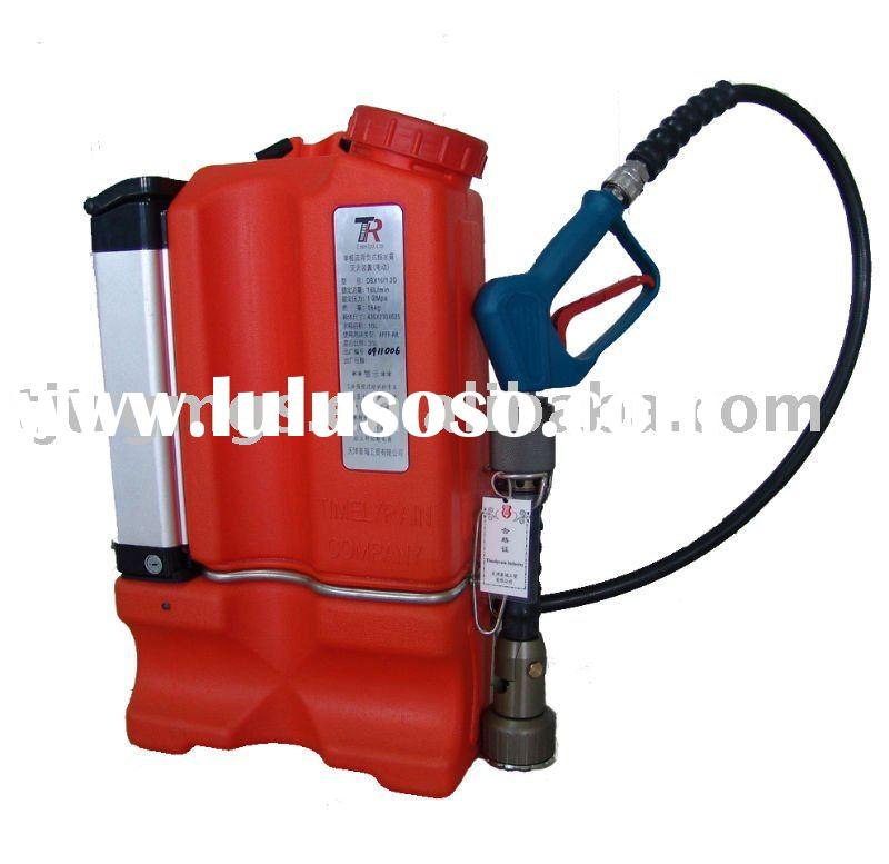 Backpack Single Phase Water Mist Fire Fighting Device (Battery powered)