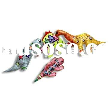 Dinosaurs(paint toy,diy toy,Littler painter,stuffed toy,baby's toy)